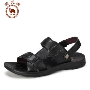 骆驼牌男鞋 夏季新款凉鞋 日常休闲沙滩鞋透气凉拖鞋