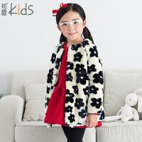 初语童装冬装新款儿童外套百搭休闲女童外套女 T5414000012