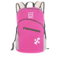 双肩背包 可折叠包 防水轻便斜跨皮肤包野营旅行袋