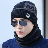 男士帽子冬季青年保暖针织毛线帽潮加绒冬天棉帽防寒套头