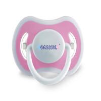贝儿欣 硅胶舒适安抚奶嘴 无BPA 粉红色 BS4642