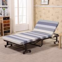 未蓝生活单人免安装折叠床 办公室午休床值班床陪护床金属床 床垫宽90cm厚8cm VLM90