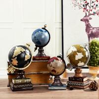 地球仪复古模型工艺品创意酒吧摆件橱窗陈列软装饰品家居摆饰品