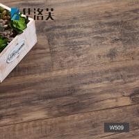 地贴PVC自粘地板革木纹复古风卧室家用室内耐磨加厚免胶地胶贴纸G 深木纹-509 2mm加厚耐磨