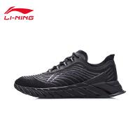 李宁跑步鞋官方新款冬季男鞋男士跑鞋轻便回弹鞋子低帮运动鞋