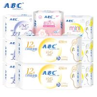 ABC亲柔立围甜睡420mm夜用轻透薄棉柔卫生巾3片(含KMS健康配方)
