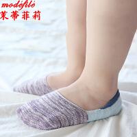 茉蒂菲莉 儿童袜子 新款儿童薄款纯棉船袜满额减男童女童1-10岁浅口隐形袜宝宝袜童装