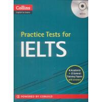 【二手书8成新】Collins Practice Tests for IELTS (with 英文原版 Harperc