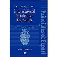 【预订】Principles of International Trade and Payments 97806311