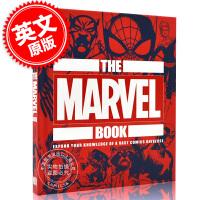 现货 英文原版 DK百科系列 漫威之书 精装 The Marvel Book: 拓展漫威宇宙的知识点 漫威周边 美漫图