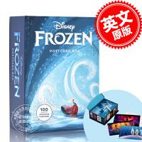 现货 冰雪奇缘 系列收藏明信片 概念艺术设定 迪斯尼 冰雪女王 冰雪奇缘 生日惊喜 艾莎 安娜 英文原版 Disney
