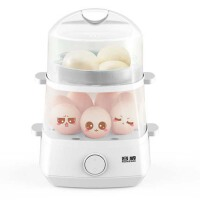 煮蛋器迷你多功能双层自动断电早餐机小型不锈钢蒸蛋羹蒸蛋器