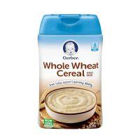 美国Gerber嘉宝 2段谷物全小麦米粉 227g 婴幼儿辅食【1罐装】