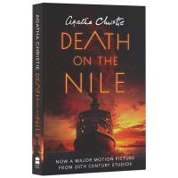 尼罗河上的惨案 Death on the Nile 英文原版小说 阿加莎克里斯蒂 英文版侦探推理小说 新电影封面版 全进