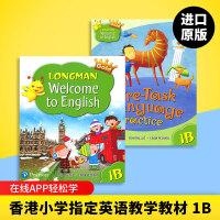 正版 Longman Welcome to English Gold 1B 香港朗文培生少儿小学英语教材 一年级下学期学
