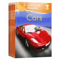 Kingfisher Readers Level 3 翠鸟分级读物系列第3级 英文原版绘本8册 儿童STEM课外教辅读物