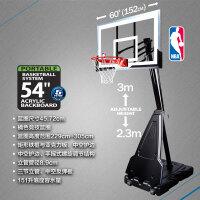 斯伯丁正品篮球架室外家用学校落地可移动便携式篮架训练器材68562