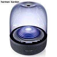 【送一次性医用口罩20片】哈曼卡顿 (Harman Kardon) Aura Studio3 360度立体无线音箱 音