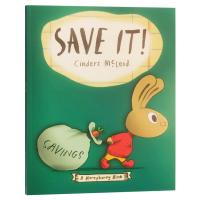 小兔子理财书3 小兔子学存钱 A Moneybunny Book Save It 英文原版 小兔子学花钱系列 亲子理财意