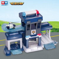 奥迪双钻超级飞侠儿童飞机玩具乐迪小爱男孩女孩礼物 儿童玩具 包警长警察局