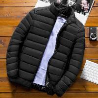 №【2019新款】冬天年轻人穿的薄款羽绒服男轻薄短款亮面韩版潮流帅气轻便外套