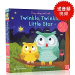 【送视频音频】英文原版Sing Along with Me Twinkle Twinkle Little Star 童