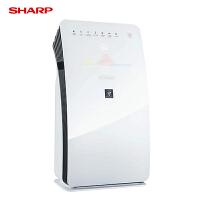 夏普/SHARP空气净化器家用KC-CE50-W除菌甲醛PM2.5去除过敏源尘螨