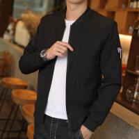 秋季飞行员夹克男士韩版帅气修身外套青年潮流百搭薄款棒球服男装
