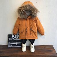 童装男童冬季儿童冬装棉衣外套男孩宝宝棉袄