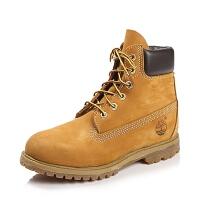 Timberland/添柏岚正品 16新款全粒面革和磨砂女靴 黄靴 10361