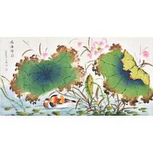 当代著名画家杨迪三尺整张花鸟画gh03960