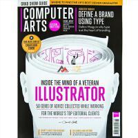 英国COMPUTER ARTS杂志 订阅2020年 F13 电脑艺术创意设计杂志