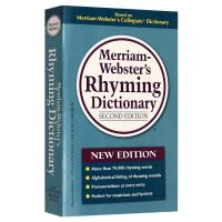 正版�F� �f氏�律字典 英文原版 Merriam Webster's Rhyming Dictionary �律�c押��~