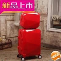 大红色结婚箱子母箱陪嫁箱万向轮皮箱拉杆箱女嫁妆箱旅行箱行李箱