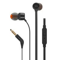 JBL T110入耳式通话耳机手机耳塞苹果安卓通用线控低音面条防缠绕
