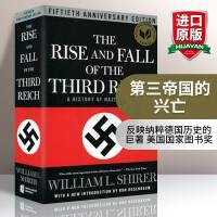 第三帝国的兴亡 英文原版The Rise and Fall of the Third Reich 纳粹德国历史 华研原