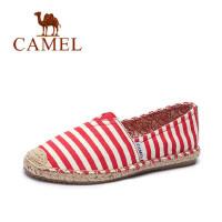 【每满200减100】camel骆驼女鞋 春季新款帆布鞋 休闲百搭平底鞋 学生韩版懒人单鞋