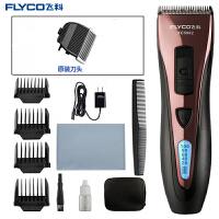 飞科(FLYCO)电动理发器 FC5902 儿童成人电推剪液晶显示充插两用专业电推剪(原装刀头套餐)