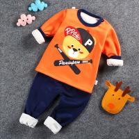 №【2019新款】宝宝衣套装1-3岁婴儿儿童秋衣女童秋裤男童内衣0