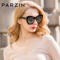 帕森女士板材大框尼龙镜片潮墨镜偏光太阳镜墨镜9756
