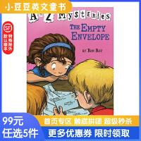 进口英文原版 The Empty Envelope神秘案件 #5 一个空信封【6-12岁】