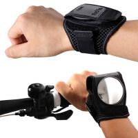户外运动骑行装备配件 自行车后视镜 腕带护腕反光镜