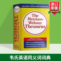 韦氏英语同义词词典 英文原版 The Merriam Webster Thesaurus 英英字典 词汇学习工具书可搭单