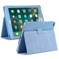 苹果平板ipadair2外套apaid a1822支架a1566保护新ipad壳套I3派 iPad 5/6-荔枝纹-天