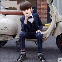 英伦风儿童钢琴演出服秋款男花童男童西装套装2016新款礼服