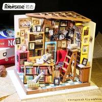若态3d立体木质拼图拼板diy小屋玩具礼品纯手工创意模型山姆书店