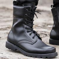 男作战靴 钢头钢底马丁靴 男士靴子男靴