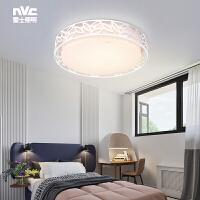 雷士照明 晶叶 LED圆形卧室灯阳台餐厅吸顶灯温馨浪漫现代简约创意灯聚