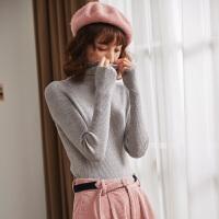【直降价99元】唐狮毛衣女韩版冬季新款高领套头打底衫修身百搭时尚气质上衣