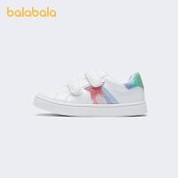 【2件7折:160.3】巴拉巴拉童鞋女童板鞋百搭小白鞋�和�女幼童舒�m�r尚甜美2021新款